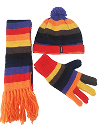 Alpaca Accessories Set - Stripes