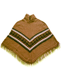Alpaca Poncho for Kids