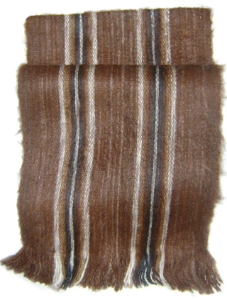 Rustic Scarf - Brown