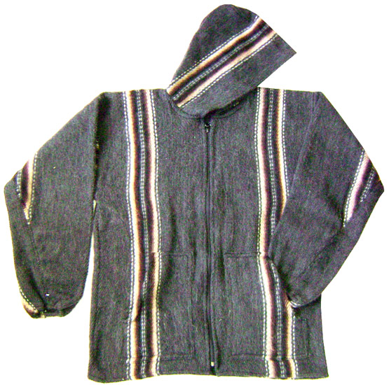 Alpaca Jacket - Stripes