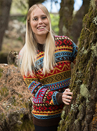 Alpaca Sweater - Multicolor