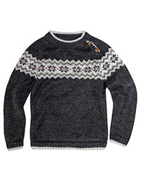 Charcoal Sweater  - Ururi