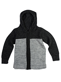 Cardigan with Zipper and Hood - Killa