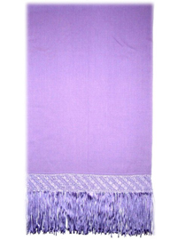 Sleek Alpaca Shawl - Light Purple