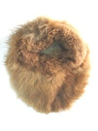 Huge Alpaca Slipper - Brown
