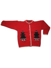 Girls Red Cardigan<br>Ages: 3 - 4