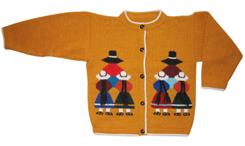 Girls Mustard Cardigan<br>Ages: 8 - 9