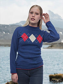 Sweater - Rhombus Design