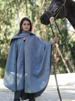 Long Alpaca Cape