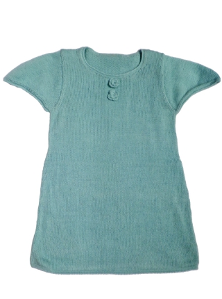 Alpaca Dress - Light Blue