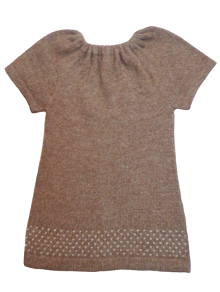 Alpaca Dress - Light Brown