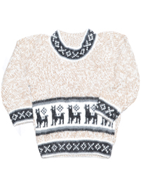 Alpaga Sweater for Kids - Llamitas (0-6 months)
