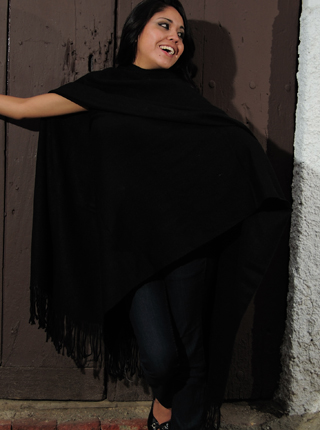 Sleek Alpaca Shawl
