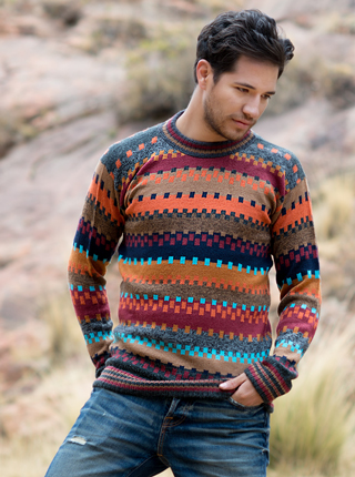 Multicolored sweater - Tierra