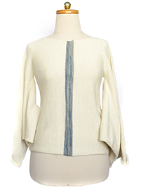 Draped Alpaca Sweater - Sayri