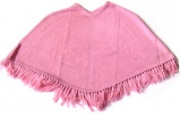 Smooth Poncho - Pink