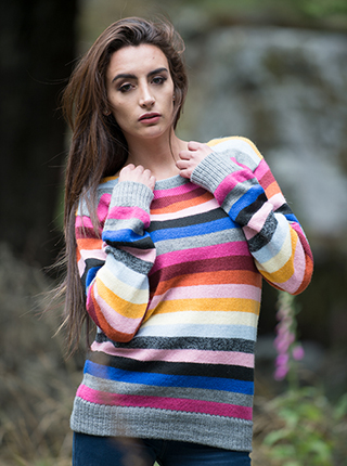Alpaca Multicolor Sweater - Jujuy