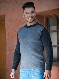 Alpaca Dark Grey Sweater - Formosa