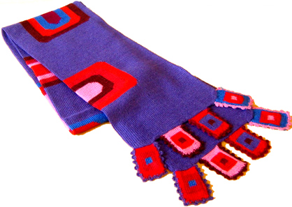 Kusillo Multicolored Scarf