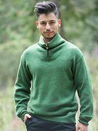 Green Troyer Sweater
