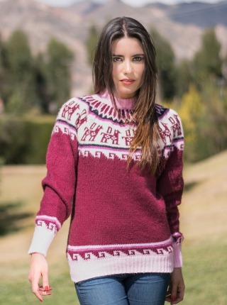 Andean Decoration Sweater