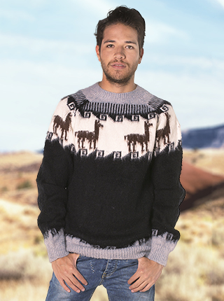 Natural Color Winter Sweater