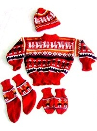 Red 4 Piece Toddler Set