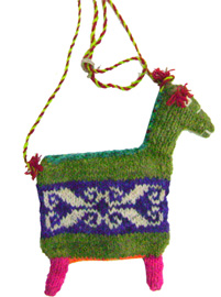 Llama Shaped Bag