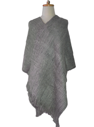 Gray shawl