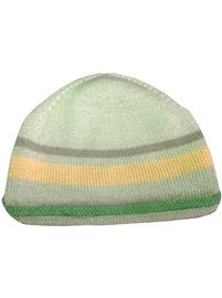 Lemon Green Striped Cap