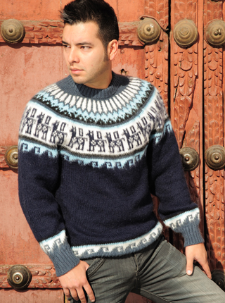 Island Sweater - Blue