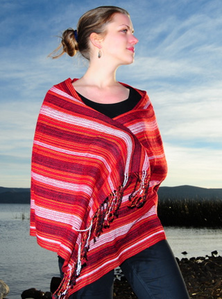 Red Tones Shawl
