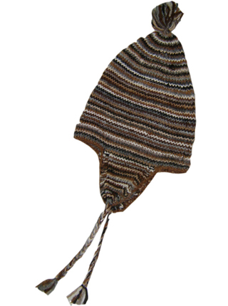 Hand Knitted Lluchu - Brown Shades