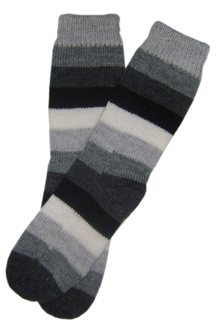 Fun Alpaca Striped  Socks