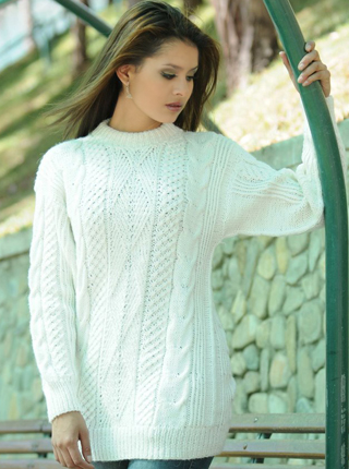 Hand Knit Sweater