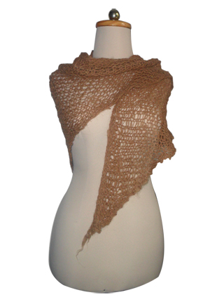 Triangular Net Shawl