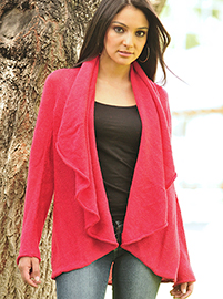Mandala Red Coat