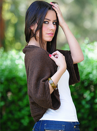 Short Brown Sweater
