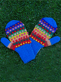 Rainbow Gloves for Kids (Ages 3-5)