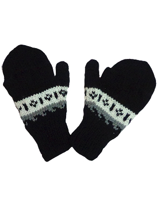 Gloves - Mittens Black