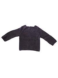 Alpaca Sweater (1 year) - Dark Gray