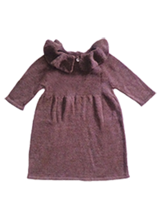 Alpaca Dress (4 years) - Brown