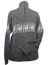Llamitas Sweater - Gray