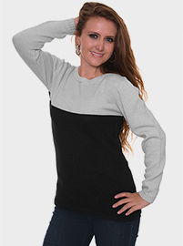 Boandi Alpaca Sweater - Black and Gray