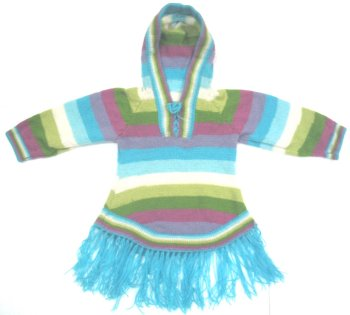 Kids Rainbow Baby Alpaca Sweater (8 years)