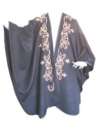 Musketeers Baby Alpaca Cape - Black