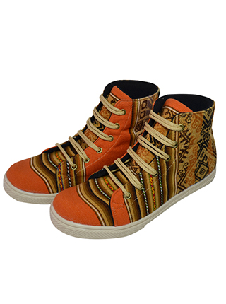 Orange Awayo shoes for her