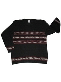 Alpaca Sweater - Wintata Black