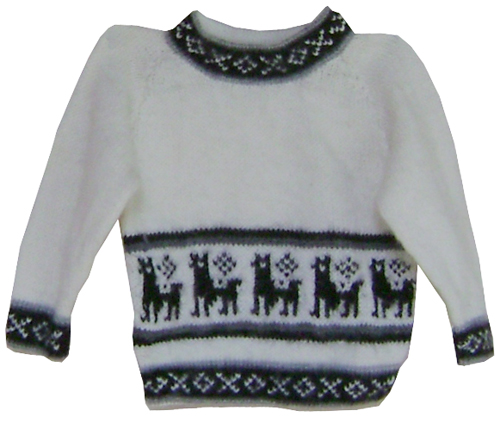 Sweater for Kids - White
